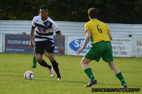 northallerton town friendly match photos
